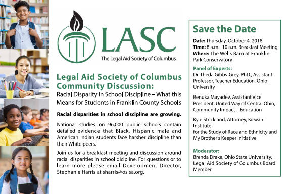 Legal Aid Society of Columbus Community Discussion